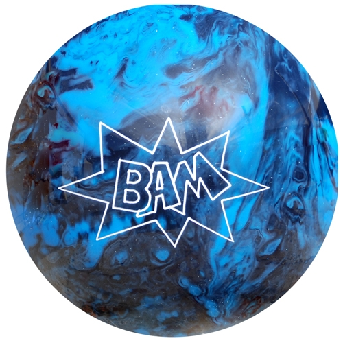 Bam Blue/Black bowling ball