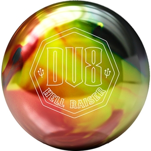 DV8 Hell Raiser, bowling ball