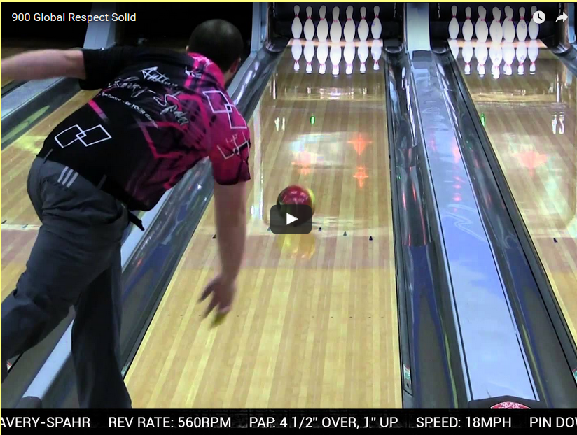 900 Global Respect Solid Bowling Ball Video Review