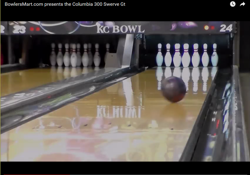 Columbia 300 Swerve GT, Video, Bowling, Ball, Reaction, Review, bowlerssmart.com