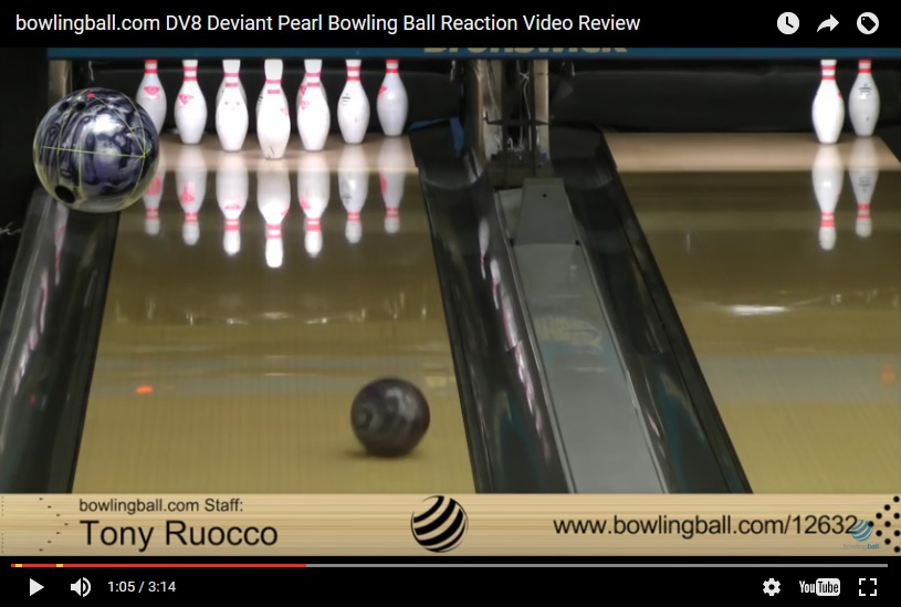 DV8 Deviant Pearl, Bowling Ball Video, Bowling Ball Video Reviews, Bowling Ball Reaction Video, DV8 Bowling Ball Reviews, DV8 Bowling Ball Videos