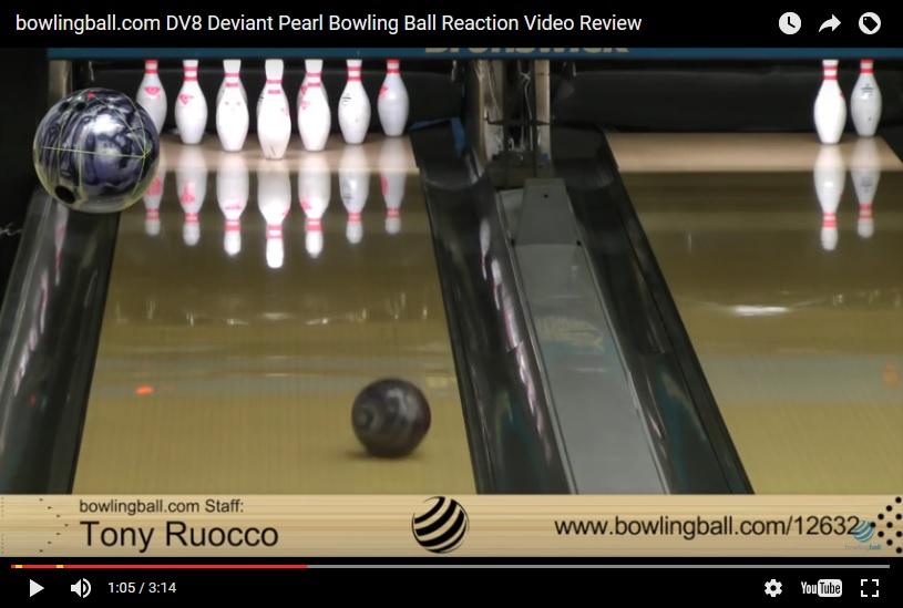 DV8 Deviant Pearl, Bowling Ball Video, Bowling Ball Video Reviews, Bowling Ball Reaction Video, DV8 Bowling Ball Reviews, DV8 Bowling Ball Videos