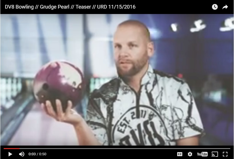 DV8 Grudge Pearl, Bowling Ball Video, Bowling Ball Video Reviews, Bowling Ball Reaction Video, DV8 Bowling Ball Reviews, DV8 Bowling Ball Videos