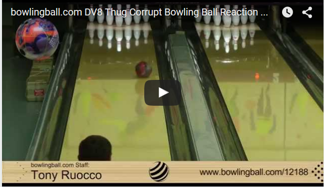 DV8 Thug Corrupt Bowling Ball Video Review by bowlingball.com