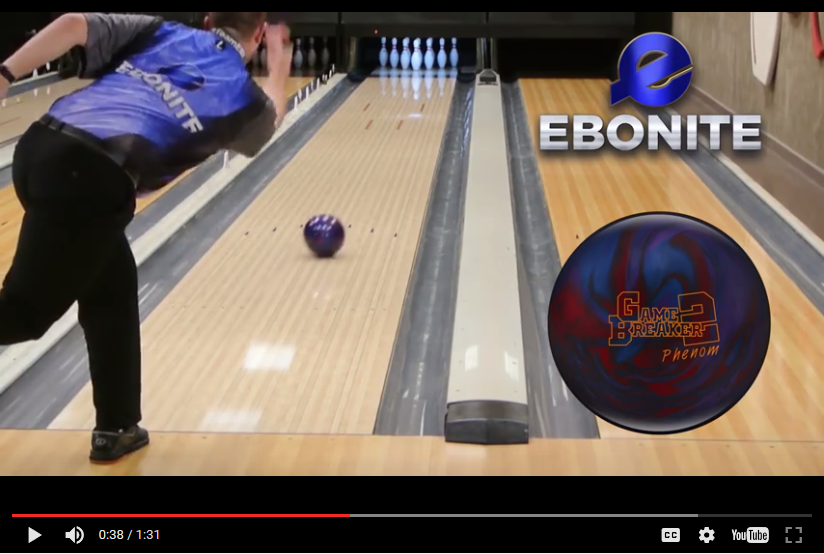 Ebonite Game Breaker 2 Phenom Pearl, Bowling Ball Video, Bowling Ball Video Reviews, Bowling Ball Reaction Video, Ebonite Bowling Ball Reviews, Ebonite Bowling Ball Videos
