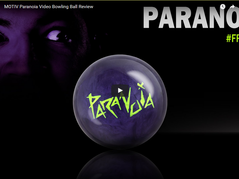Motiv Paranoia Bowling Ball Video Review by bowlmotiv