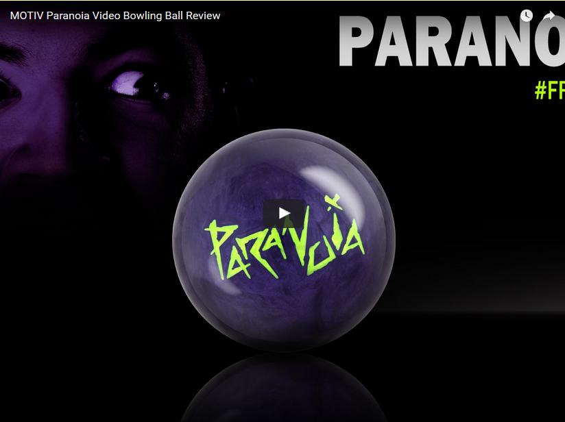 Motiv Paranoia Bowling Ball Video Review by bowlmotiv