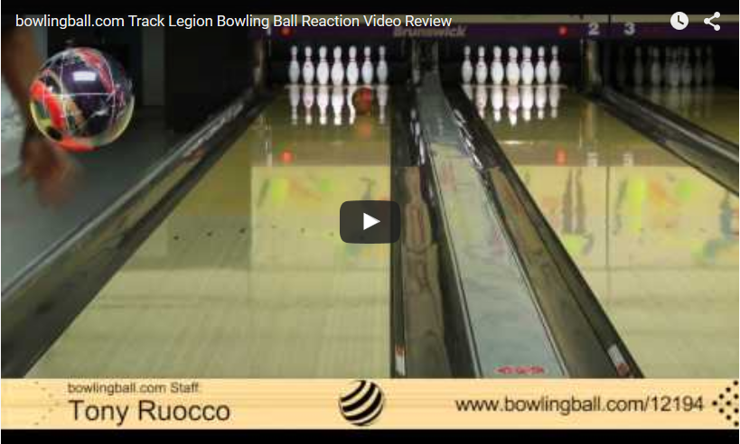 Track Legion Bowling Ball Review Video by bowlingball.com