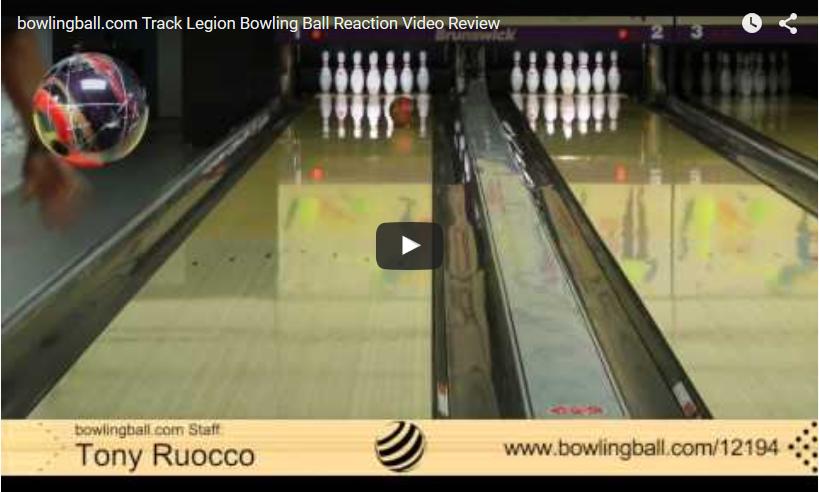 Track Legion Bowling Ball Review Video by bowlingball.com