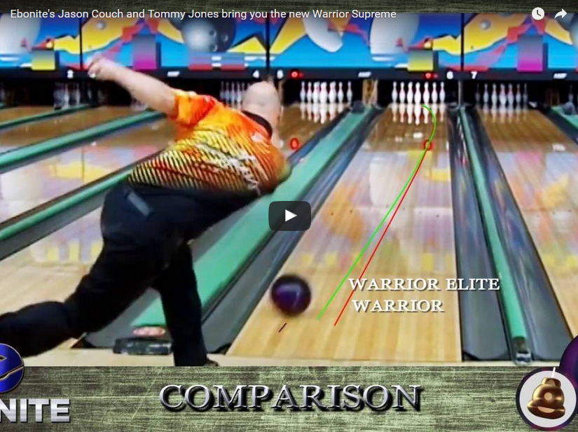ebonite warrior supreme, Video, Bowling, Ball, Reaction, Review, videoballreviews