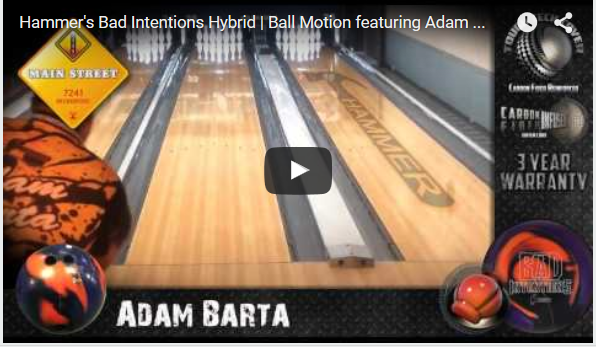 Hammer Bad Intentions Hybrid Bowling Ball Video Review by HammerBowling.com