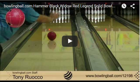 Hammer Red Legend Solid Bowling Ball Video Review