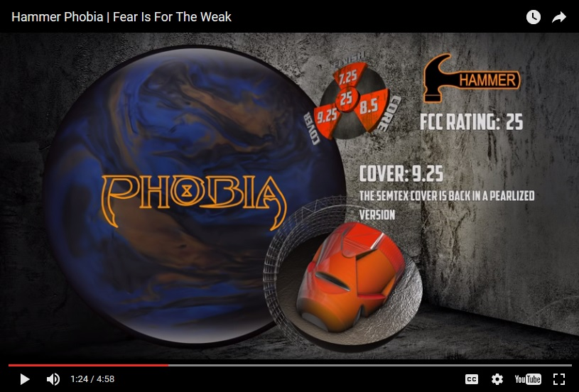 Hammer Phobia, Bowling Ball Video