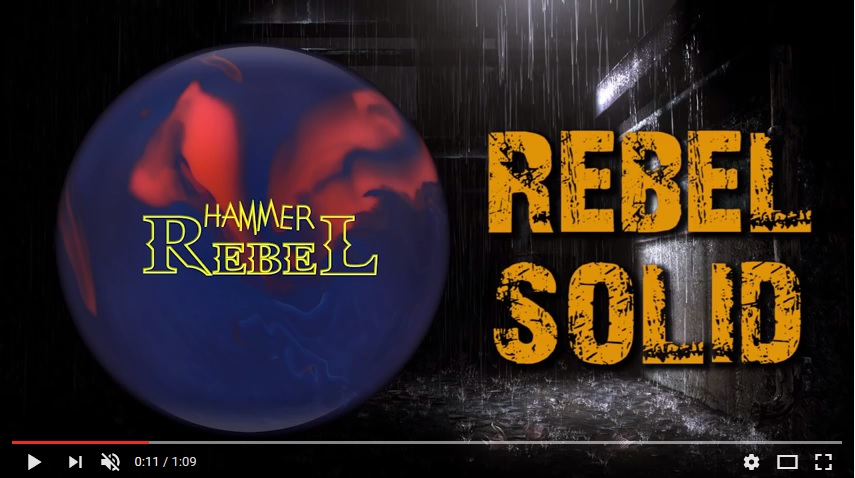 Hammer Rebel Solid, Hammer Bowling Ball Reviews, Hammer Bowling Ball Video, Bowling Ball Video Reviews, Bowling Ball Reaction Video