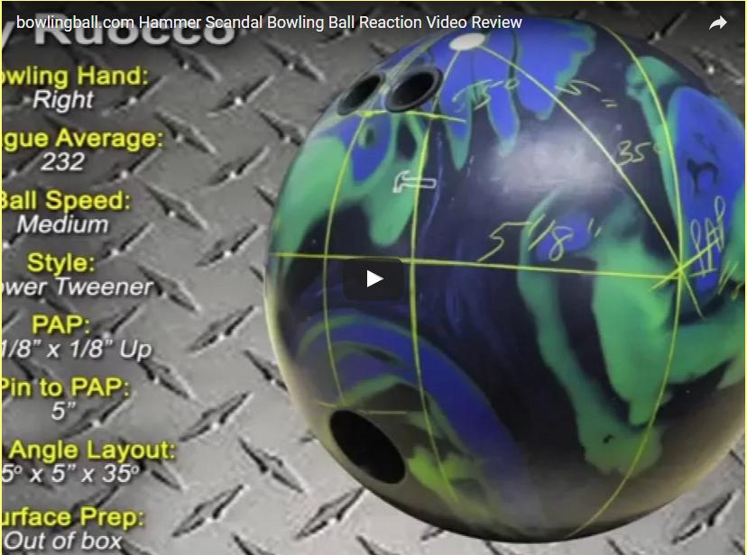 Hammer Scandal Bowling Ball Video Review by bowlingball.com