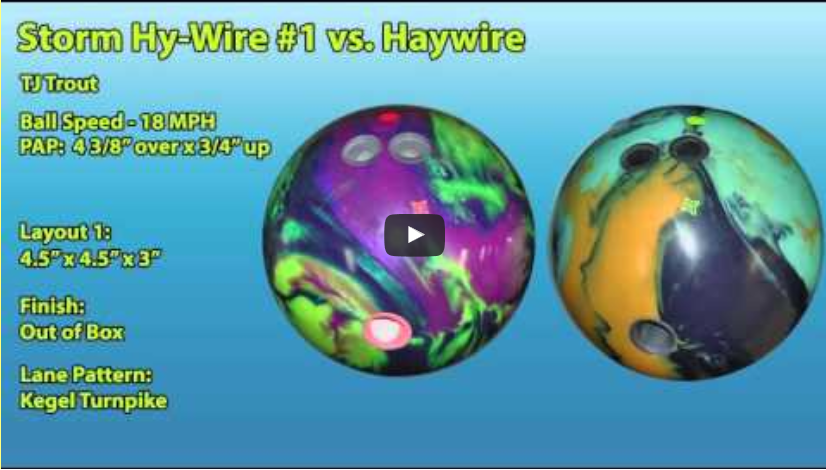 Roto Grip Hy-Wire Bowling Ball Video Review by videoballreviews.com