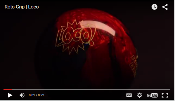 Roto Grip Loco Copper/Navy Reaction Bowling Ball Video by RotoGrip.com