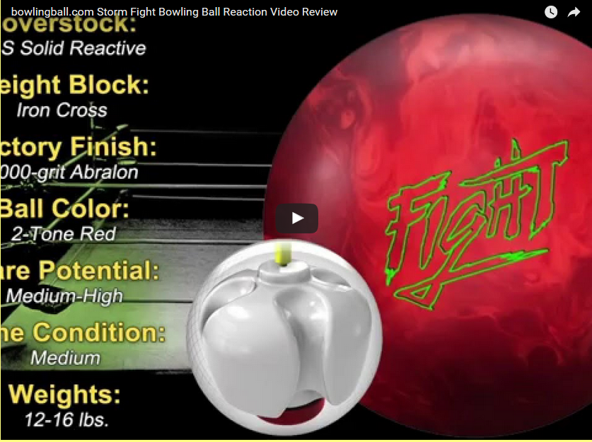 Storm Flight Bowling Ball Reaction Video Review by bowlingball.com
