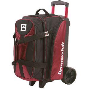Brunswick Double Roller Flash Players Whether Its Tournament Bowling Or League Compeion This 2 Ball Bag That Has Room To
