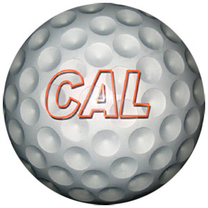 Clear Golf Ball, Bowling Ball