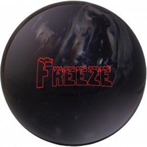 columbia freeze black bowling ball