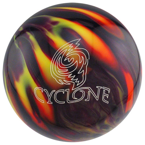 Ebonite Cyclone Purple/Orange/Yellow