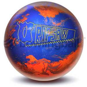 Lane #1 Ripsaw, bowling ball