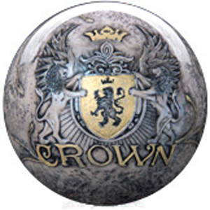 roto grip crown clear polyester, bowling ball