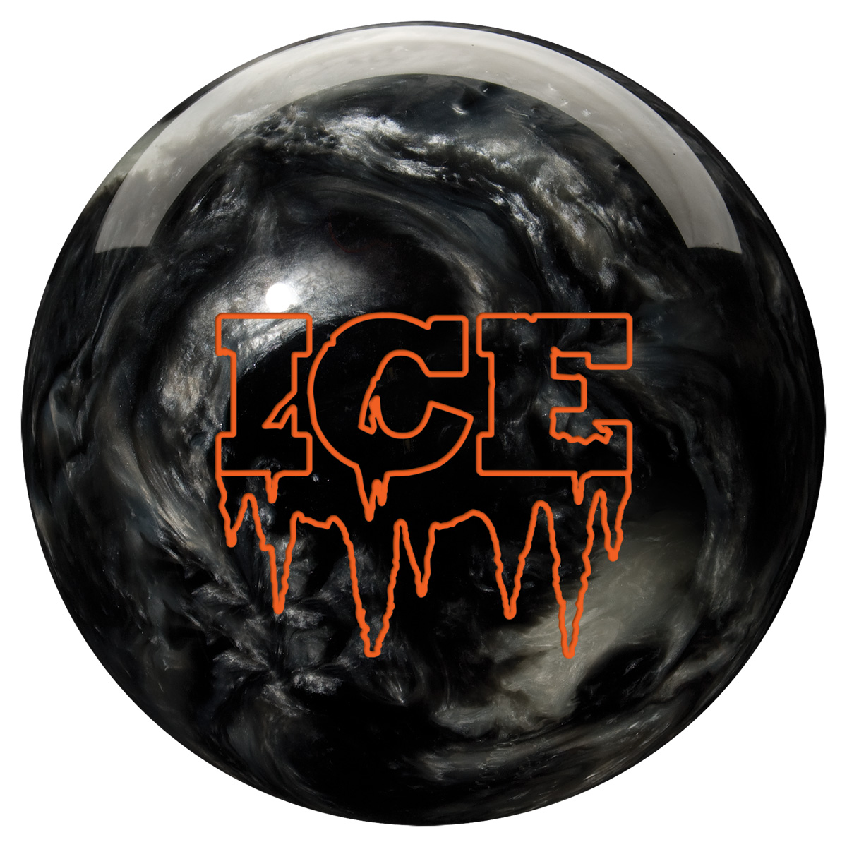 black ice, bowling ball