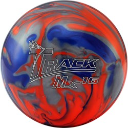 Track Mx16, bowling ball, release
